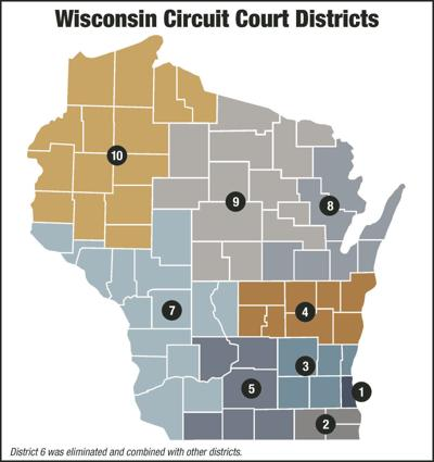Wisconsin Circuit Court Districts