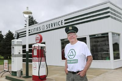 Chippewa Falls man builds replica of gas station he worked