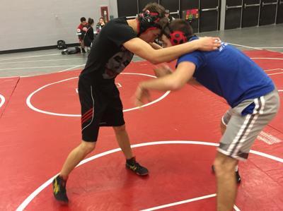 Nick Cihler Horlick wrestling