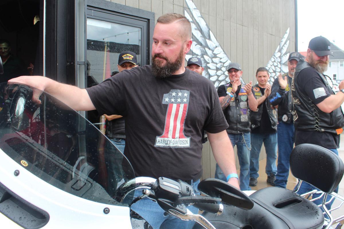 Rick and motorcycle