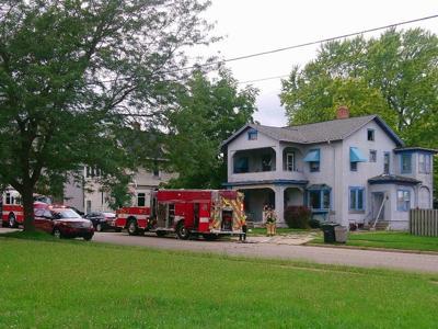 Jefferson Street fire in City of Burlington re-kindles Wednesday