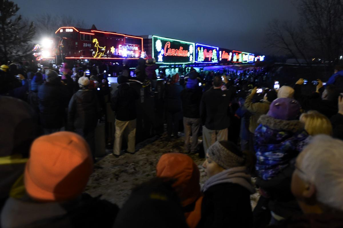 Canadian Pacific Railway's Holiday Train stops in Sturtevant