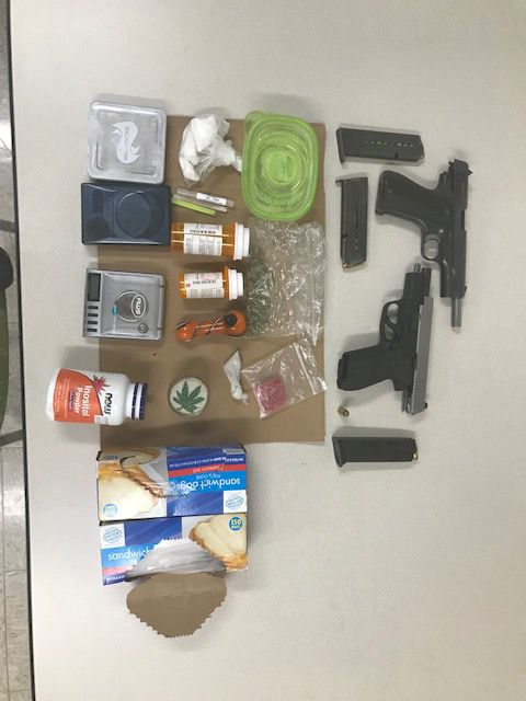 Man charged after Burlington-area drug bust turns up cocaine, pot, illegal guns