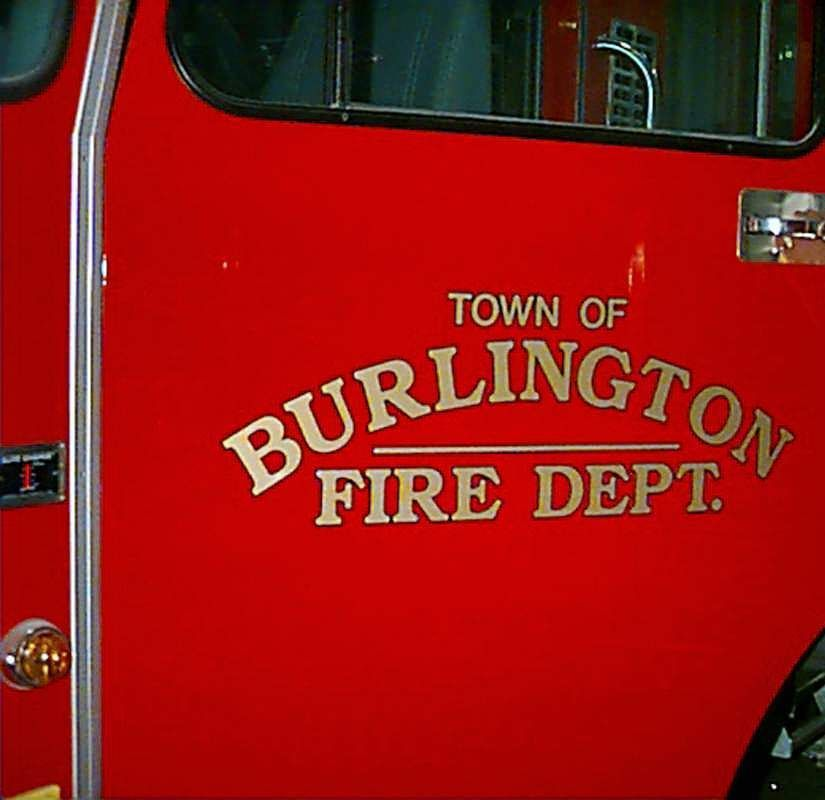 Town of Burlington Fire News