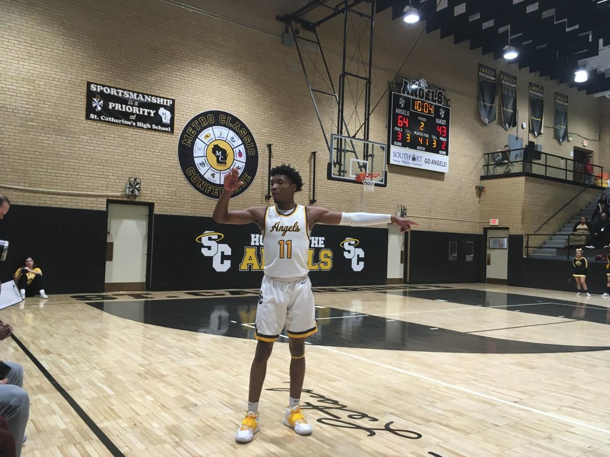 Tyrese Hunter, St. Catherine's basketball