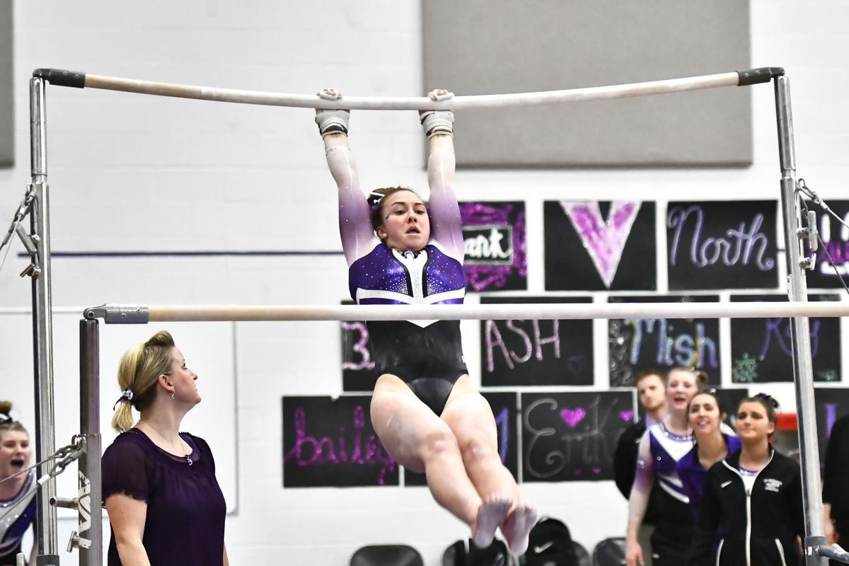 Bailey Fitzpatrick, UW-Whitewater gymnastics