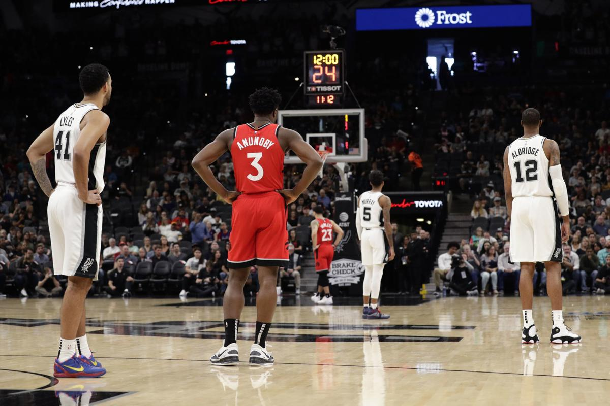 Raptors Spurs Obit Bryant Basketball