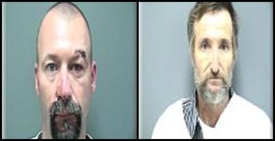 Two men arrested after separate suspected OWI crashes on
