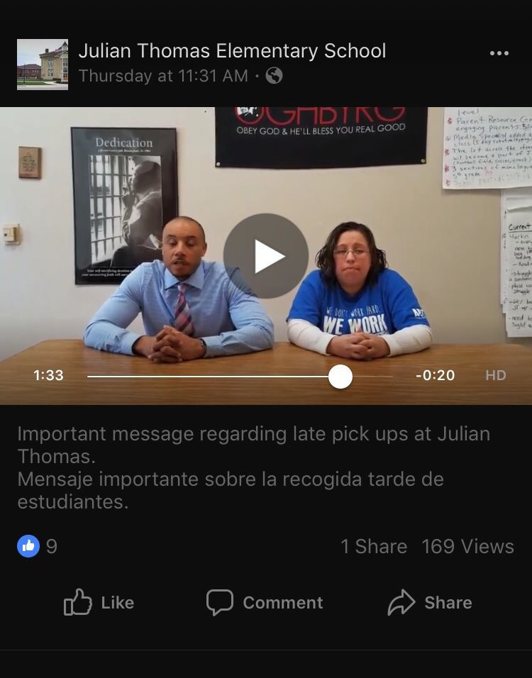 Julian Thomas Elementary School video screenshot