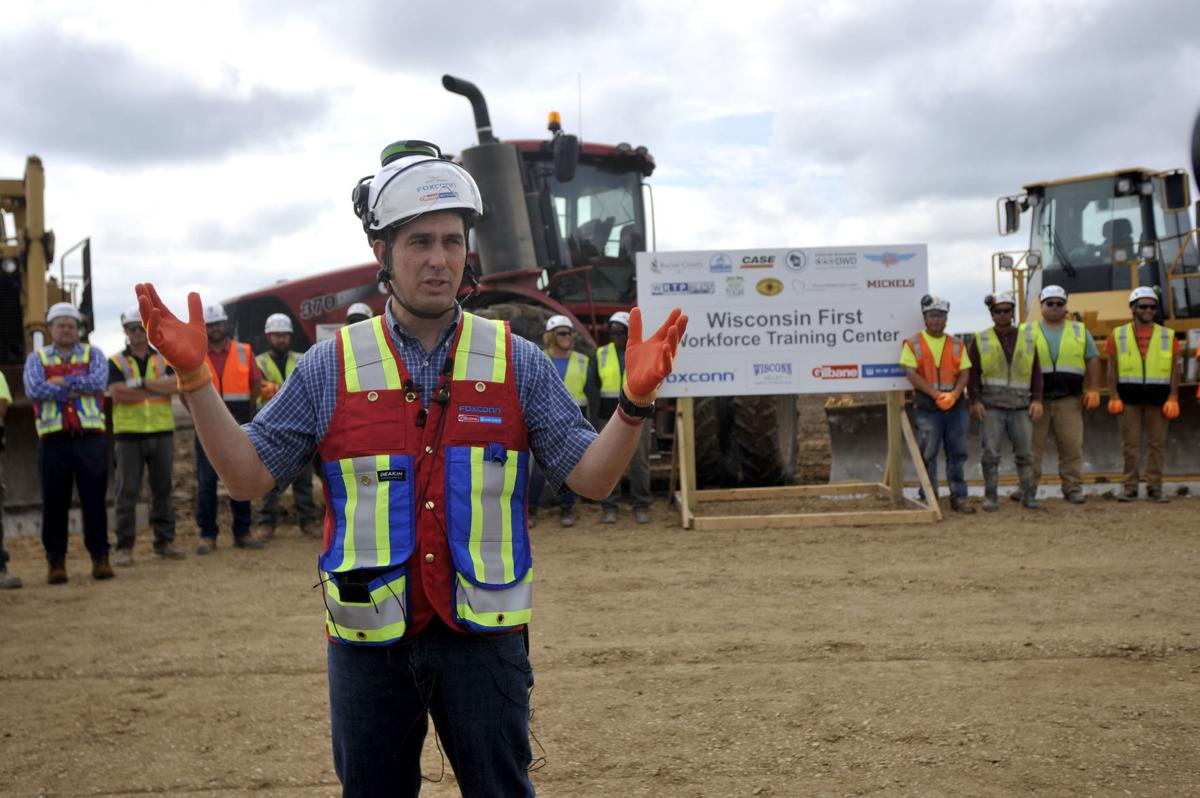 Gov. Walker visits Foxconn site