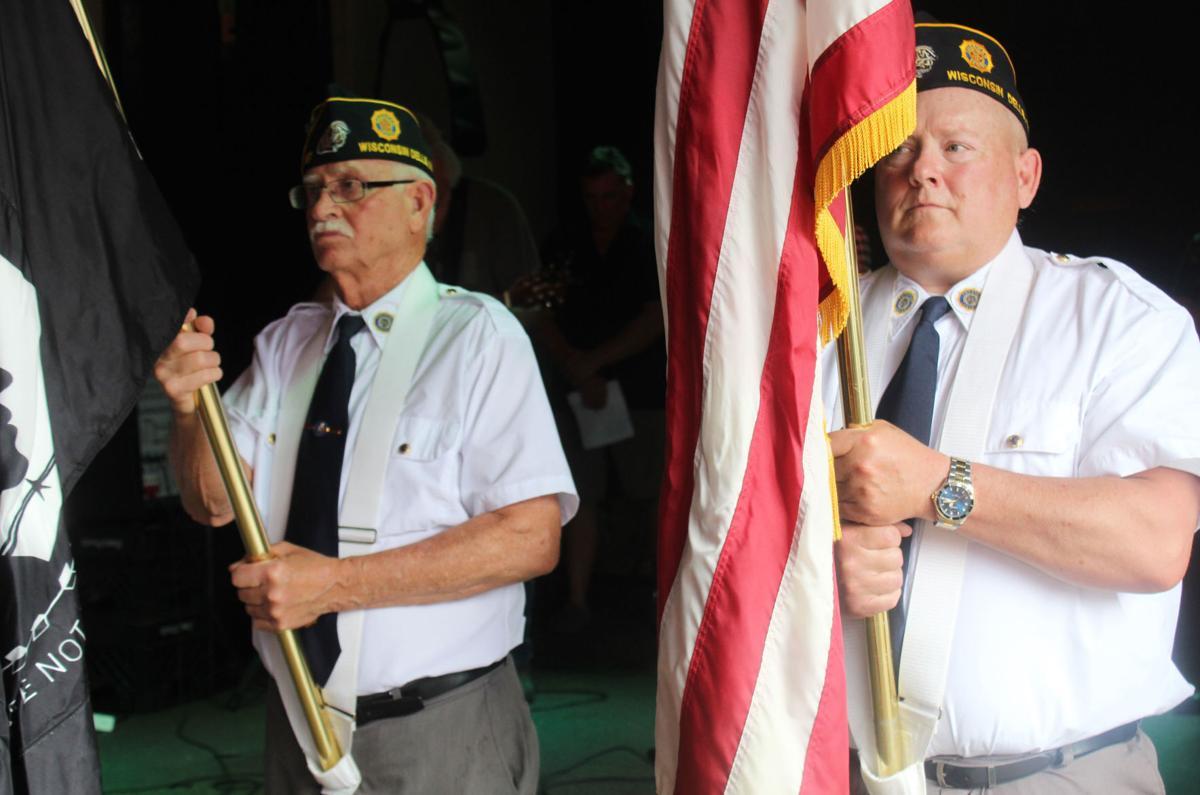 American Legion at ceremony