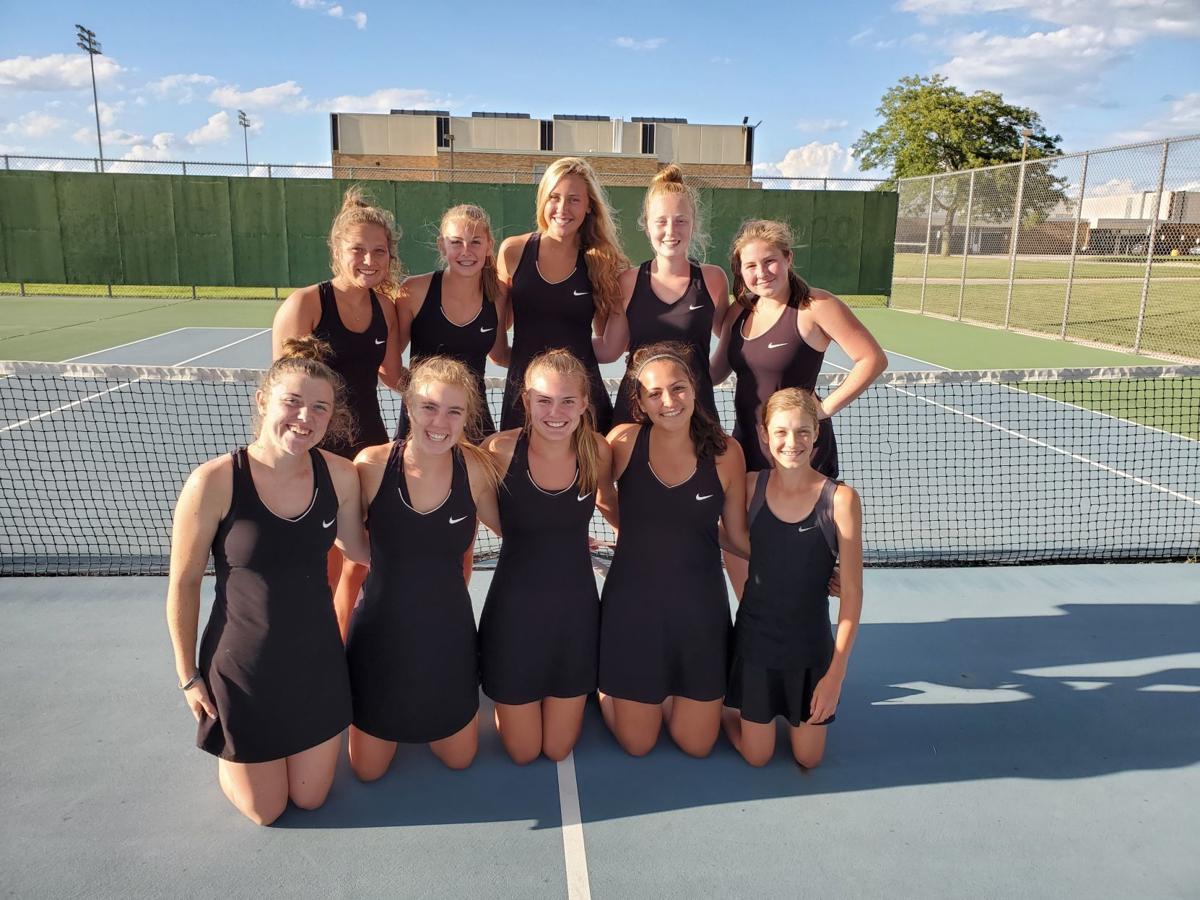 Union Grove girls tennis team wins County Invitational