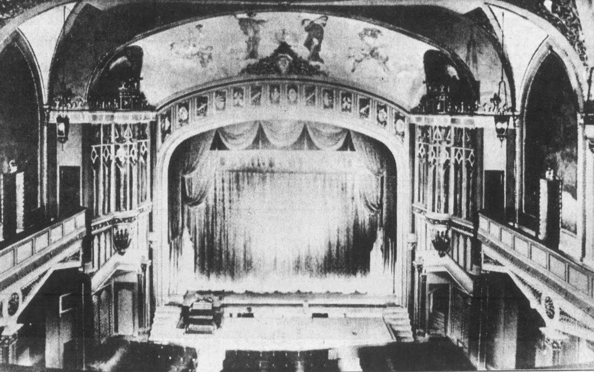 Uptown Theater interior, file photo