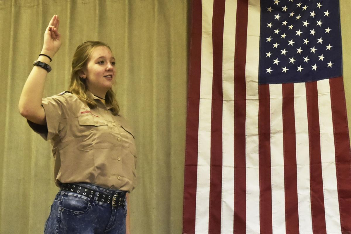First female Eagle Scout?