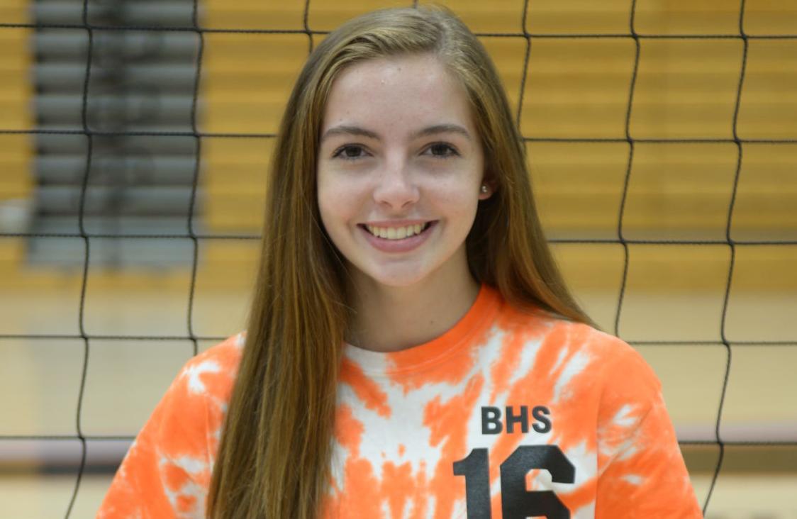 Abby Koenen, Burlington volleyball