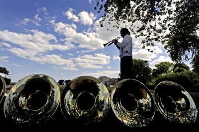 PHOTO: Bugle break