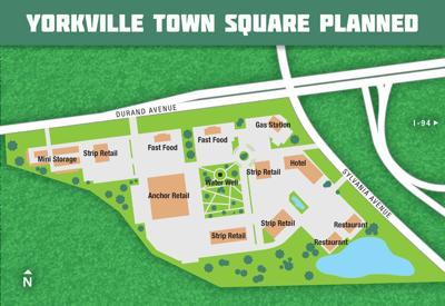 Yorkville town square planned