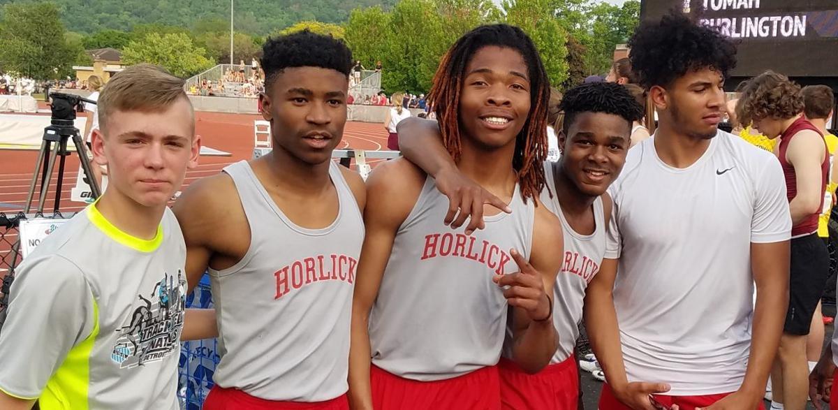 Horlick 4x100 relay