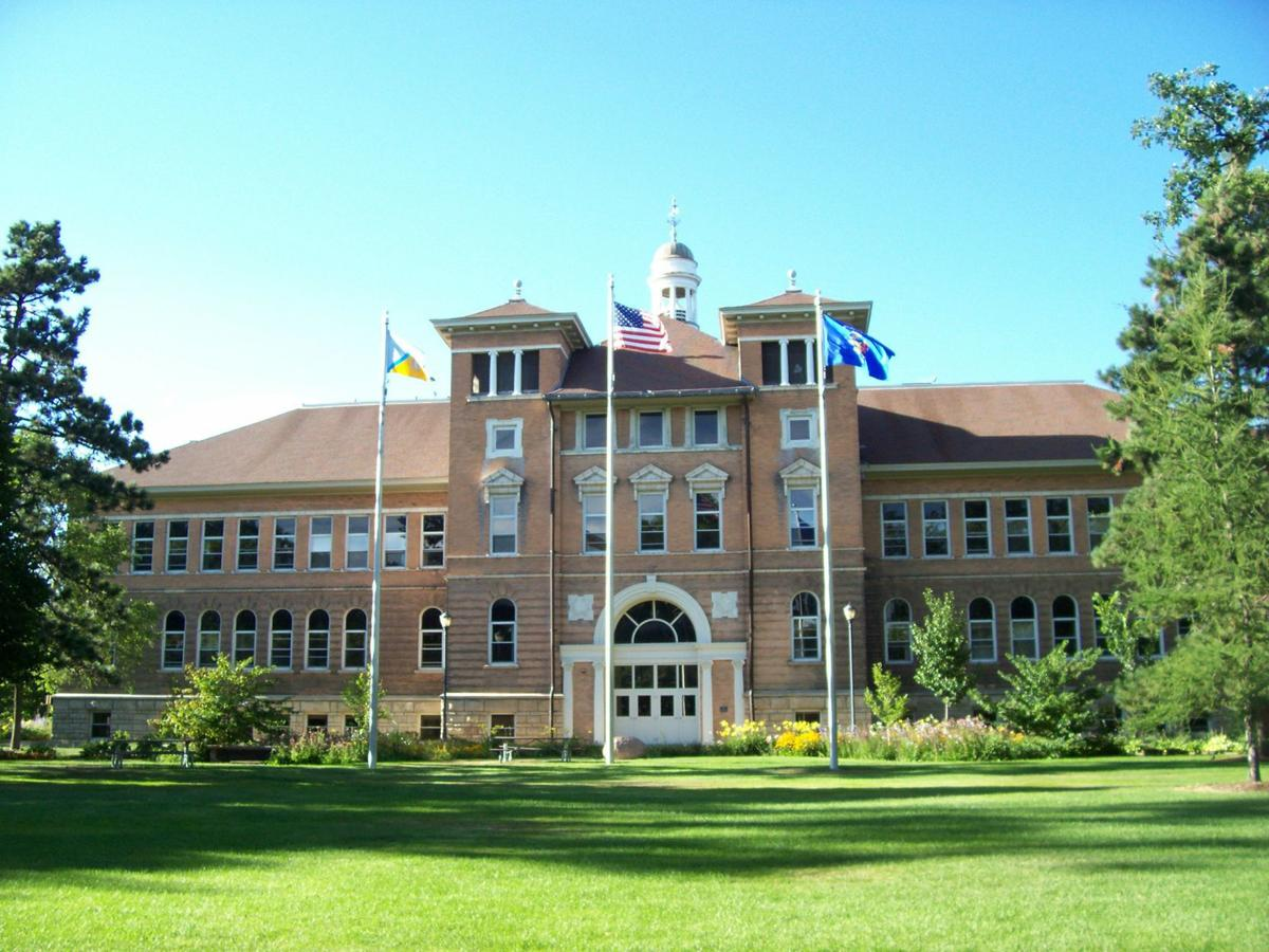 Old Main Hall at the University of Wisconsin-Stevens Point