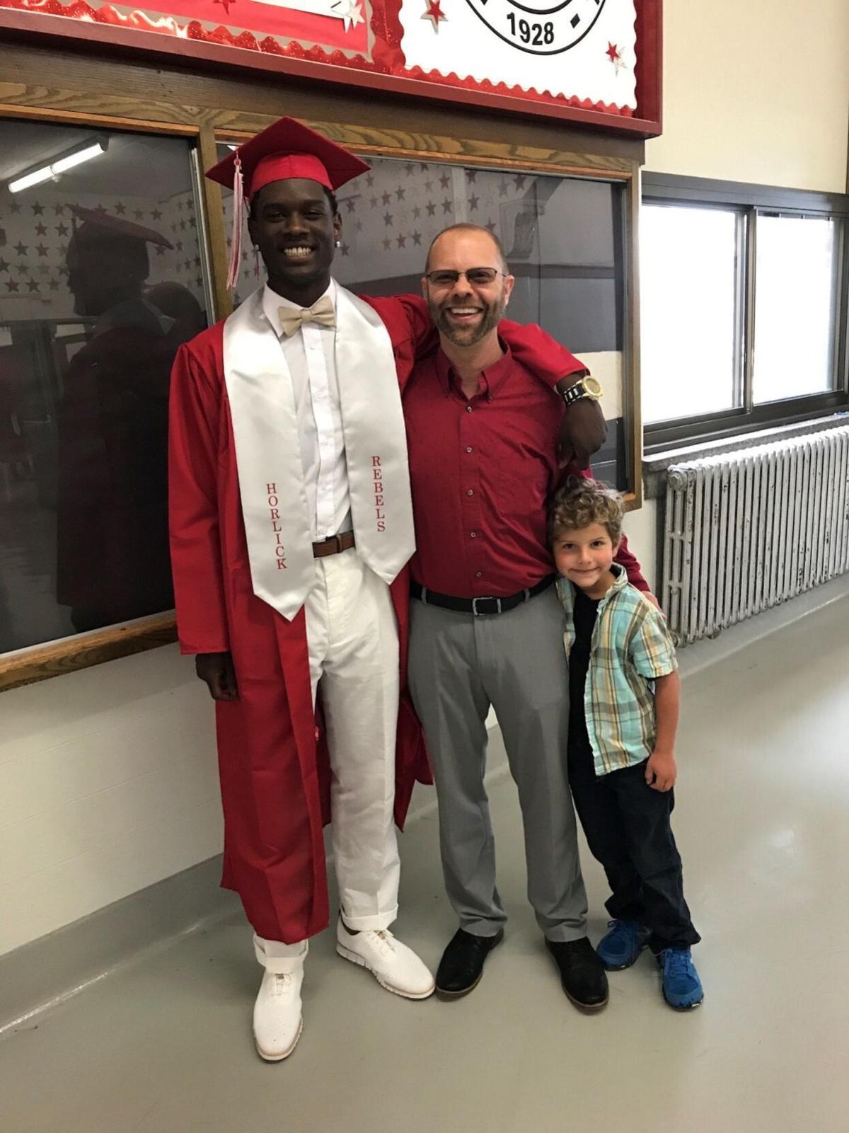 Jason Treutelaar, Marcus Caldwell and son