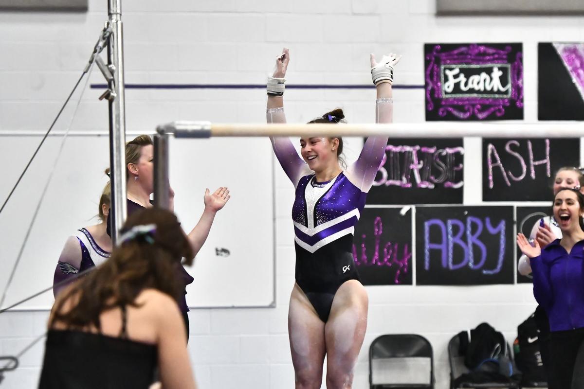 Bailey Fitzpatrick, UW-Whitewater gymnastics 2