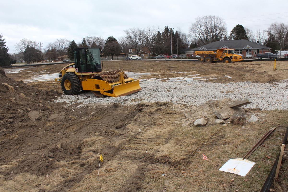 Caledonia Casey's construction site Jan. 16