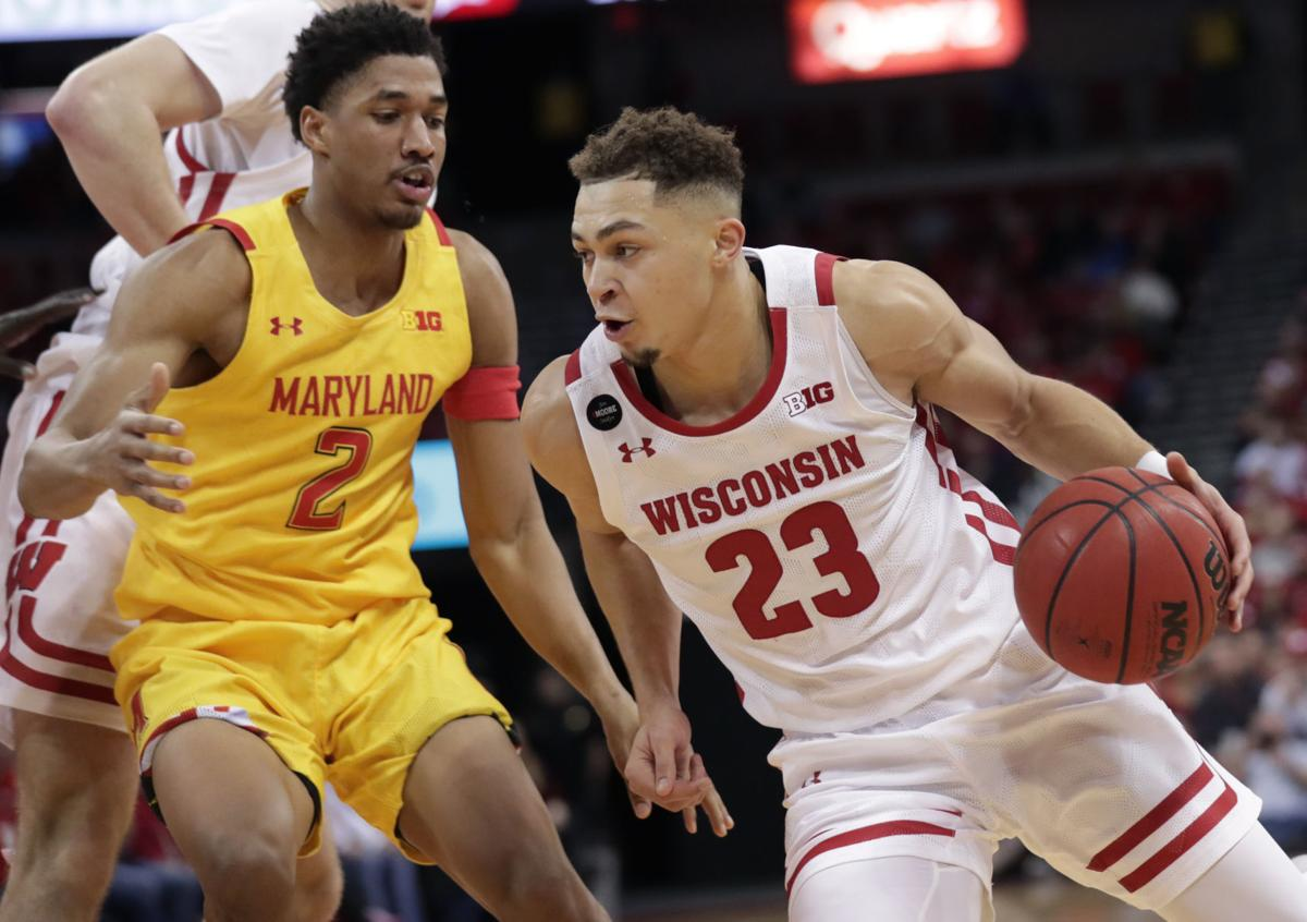 Badgers 56, Terrapins 54