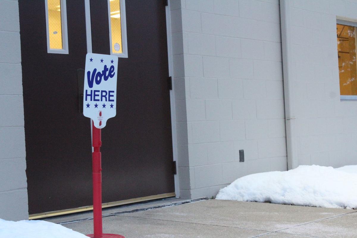 St. Mesrob vote here sign
