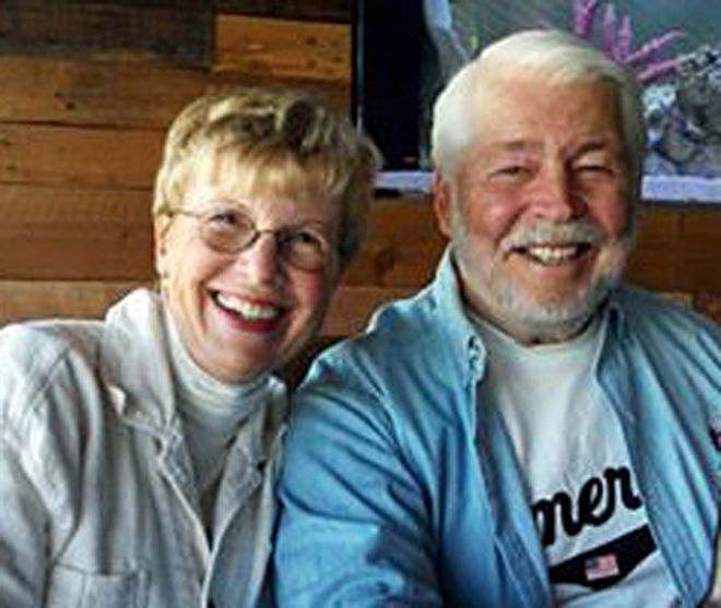 Ron and Mary Ruble