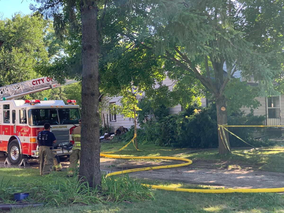 Crews fight house fire over course of two days in Burlington