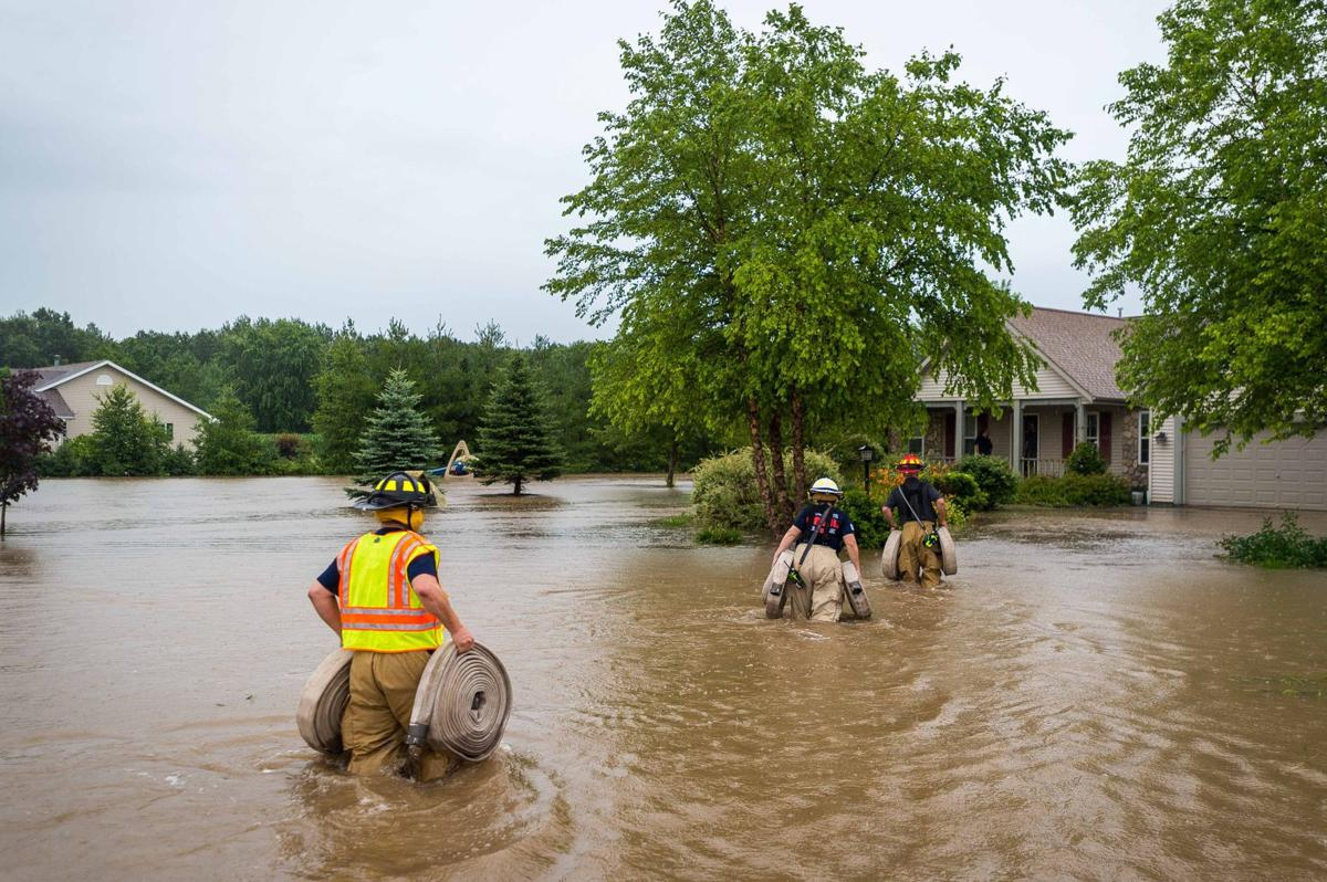 Fox River at record high level as torrential rains hit
