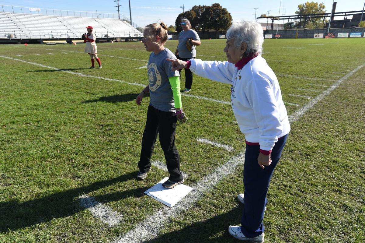 Coaching first base