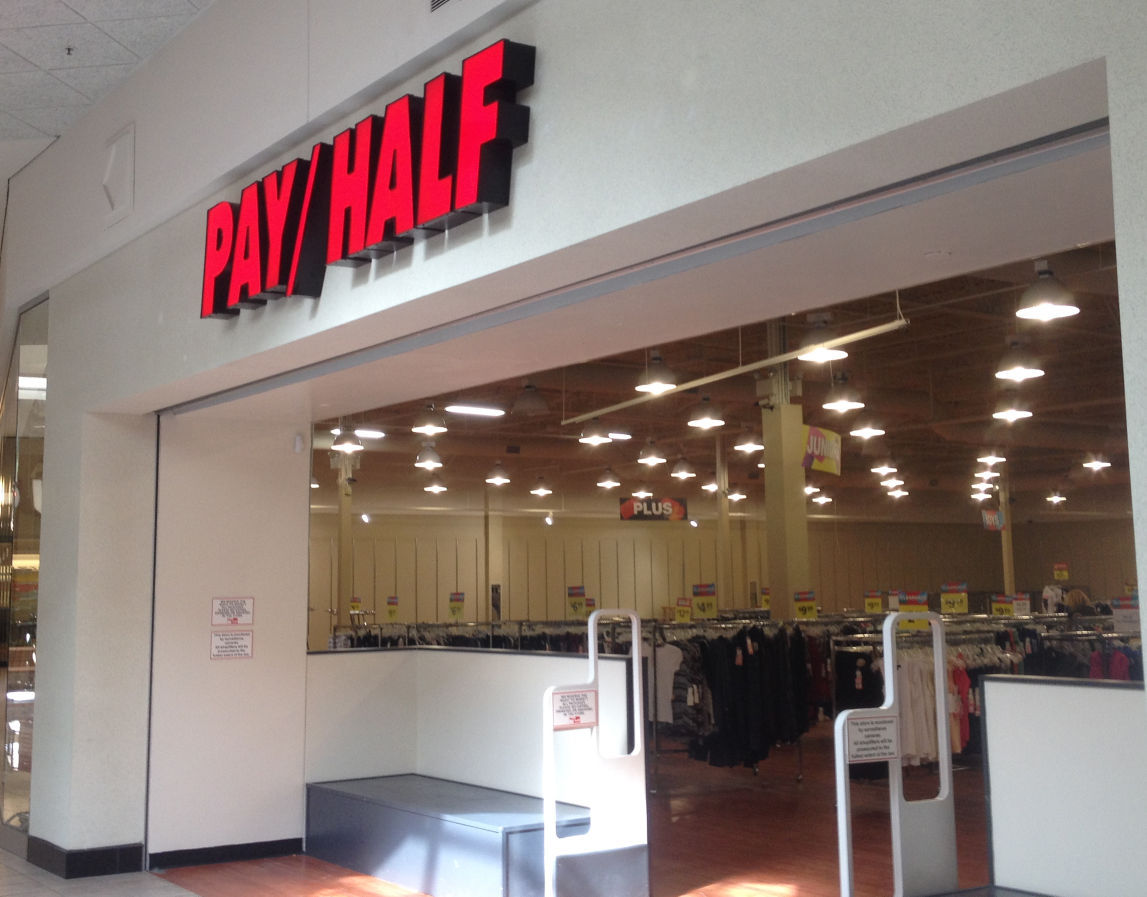 Pay half clothing online