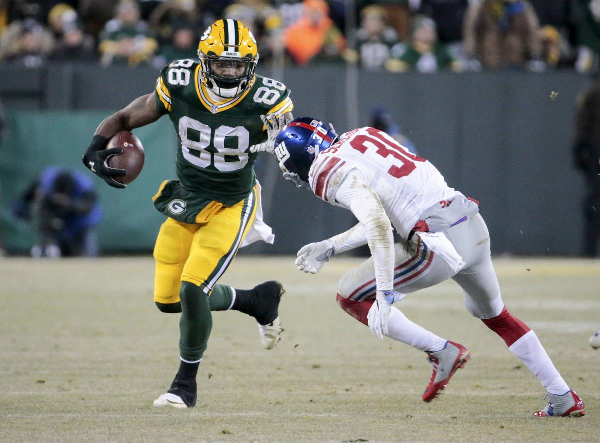 Ty Montgomery game action