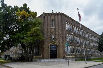 St. Catherine's High School building