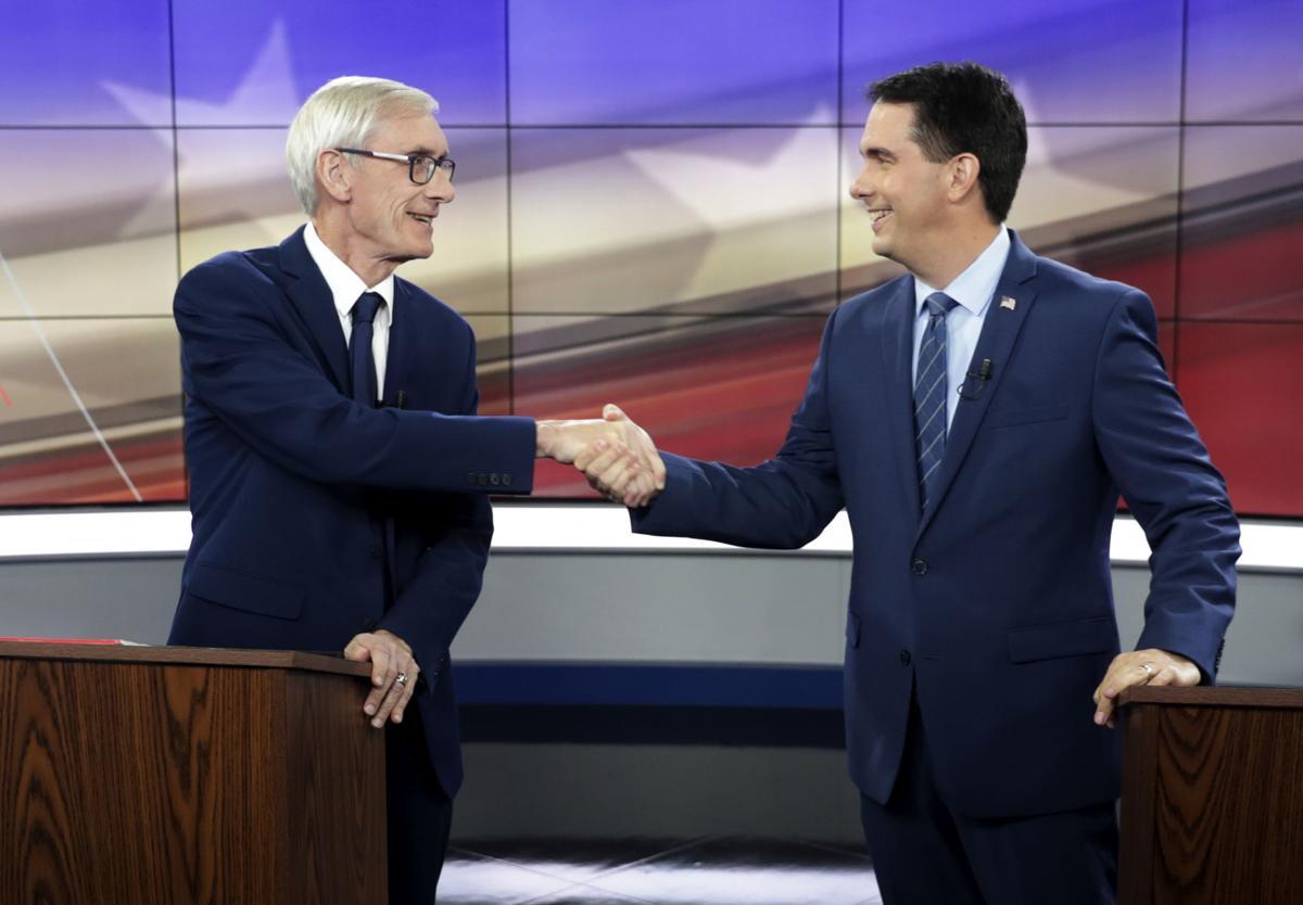 Evers, Walker debate to re-air on Milwaukee PBS this weekend