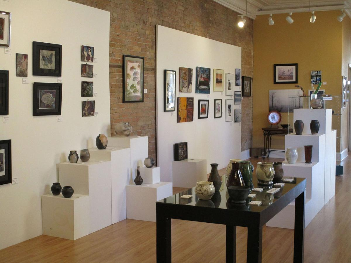 Inside the Artists Gallery