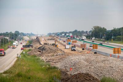 Crashes spike in I-94 work zone, traffic stops 'unsafe for everyone involved'