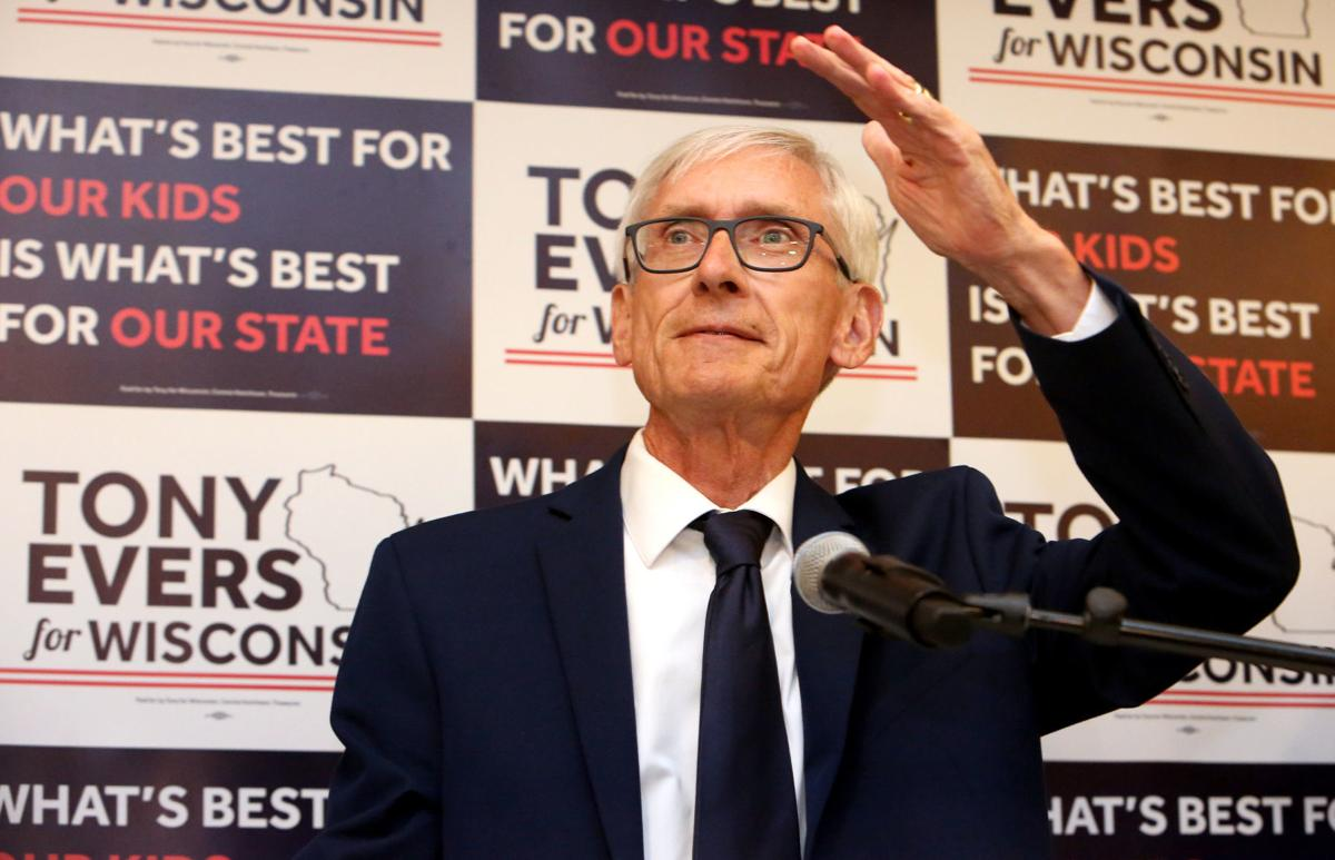 Evers on night of his Democratic primary win