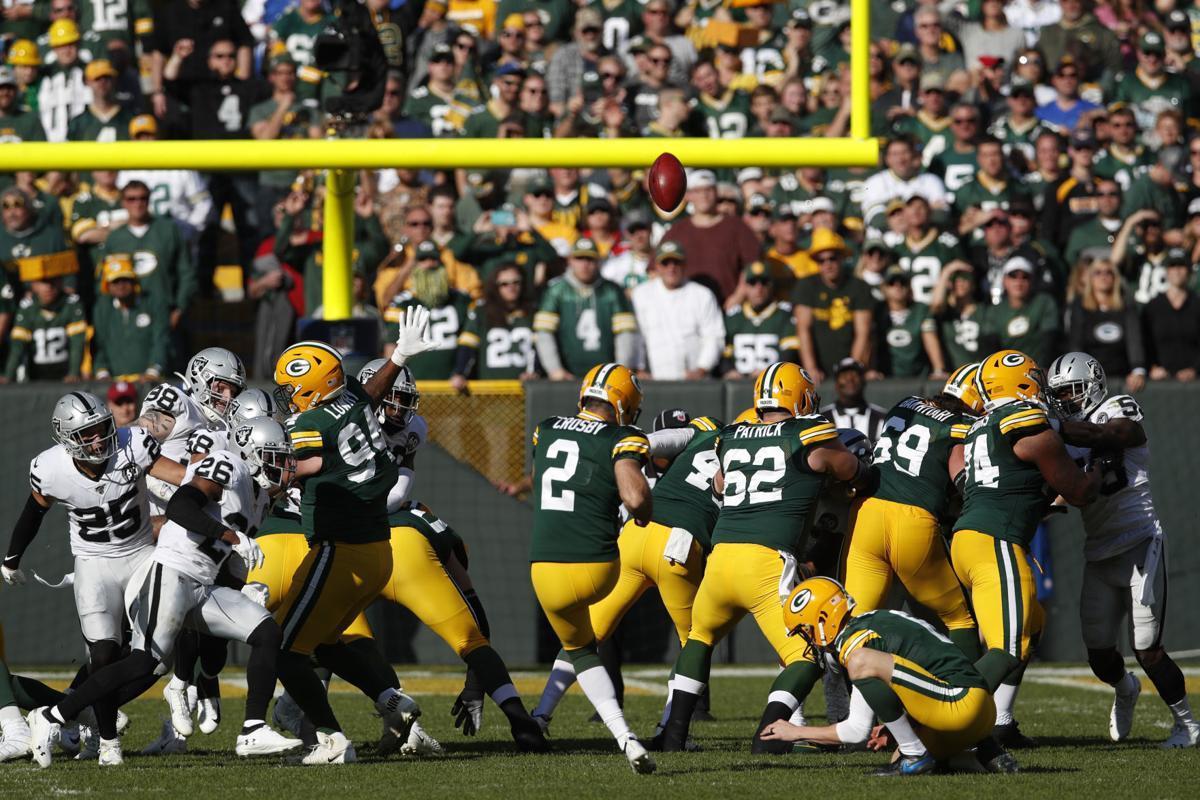 Raiders Packers Football