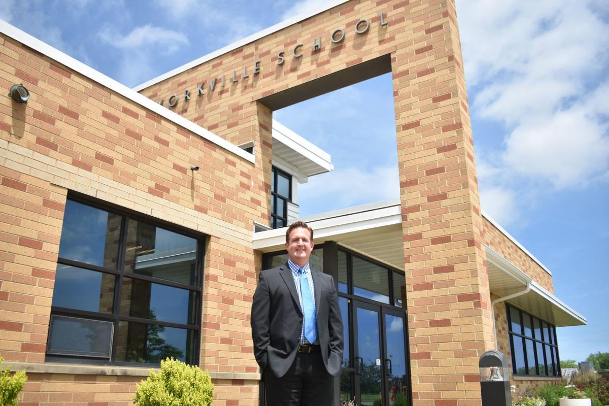 Jeff Peterson, Yorkville Elementary superintendent