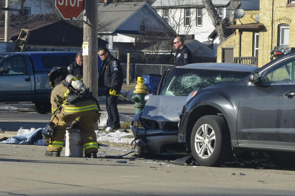 update six people injured in crash at buchanan and barker local