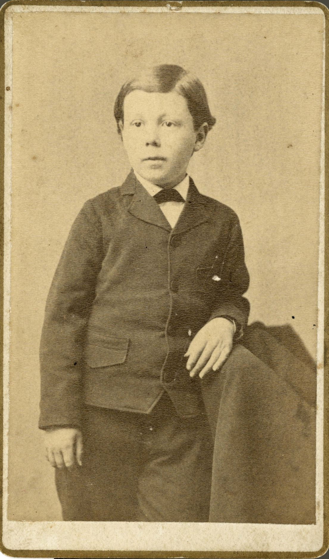 Frank Lloyd Wright as a boy