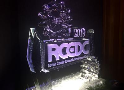 RCEDC ice sculpture