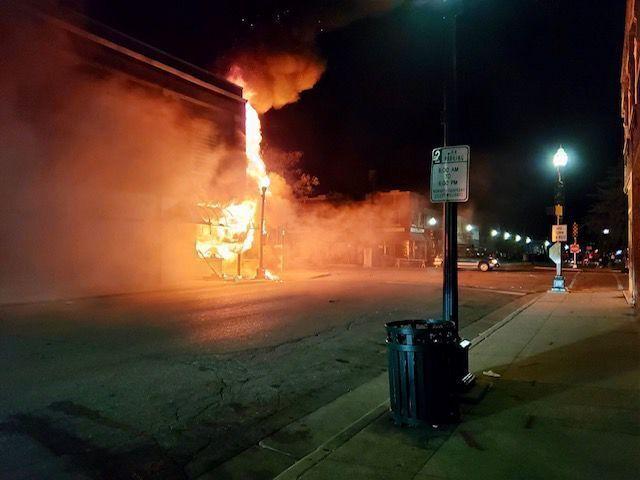 Fire, Explosion at Danish Brotherhood Lodge