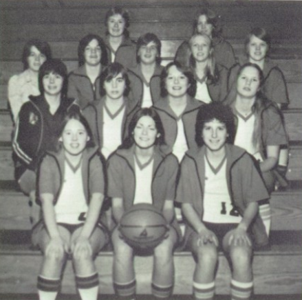 Hanson's first Burlington basketball team