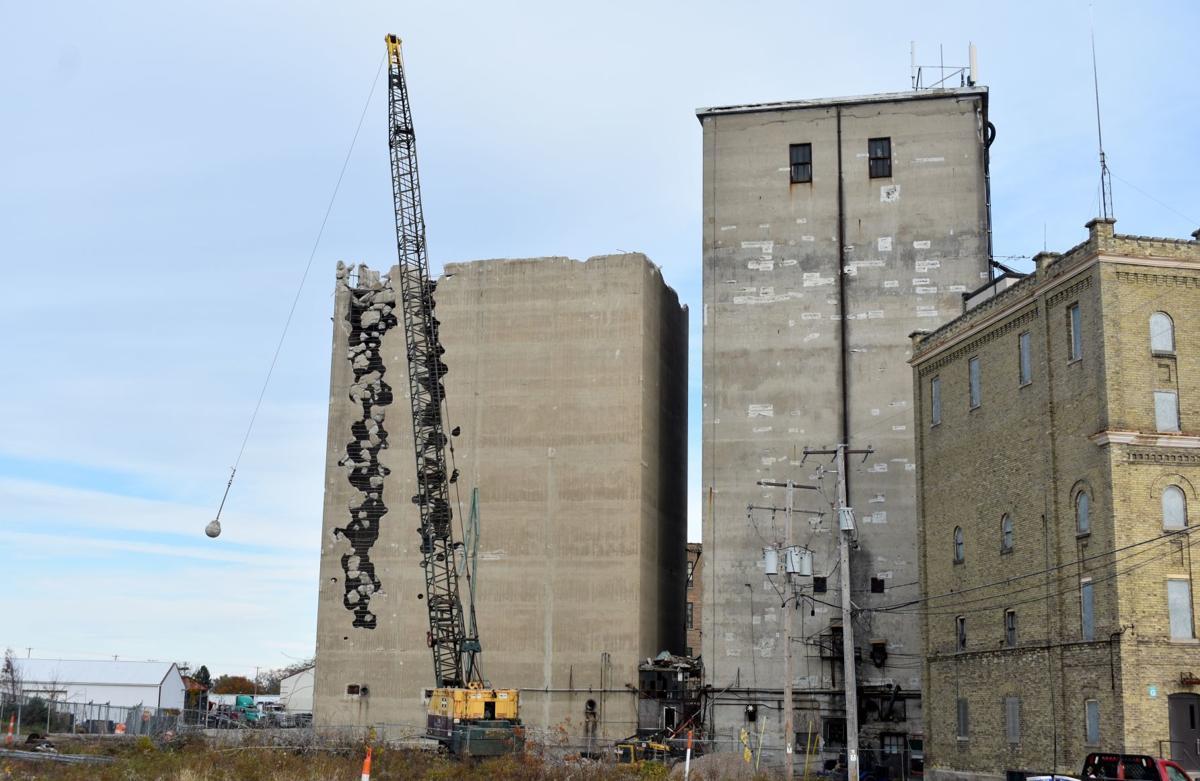 Grain Elevator Vs. Wrecking Ball