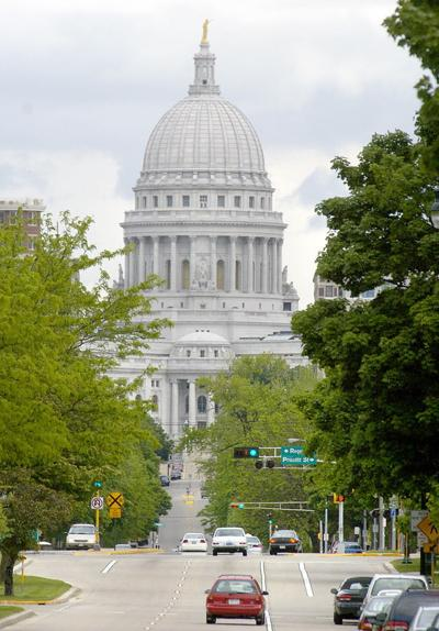 Madison State Capitol building