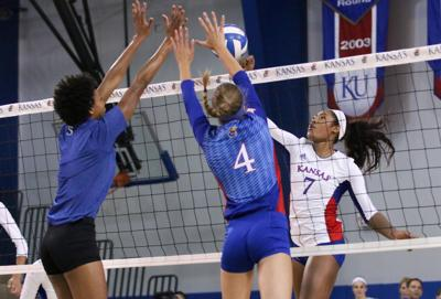 Kansas Volleyball Alumni Game
