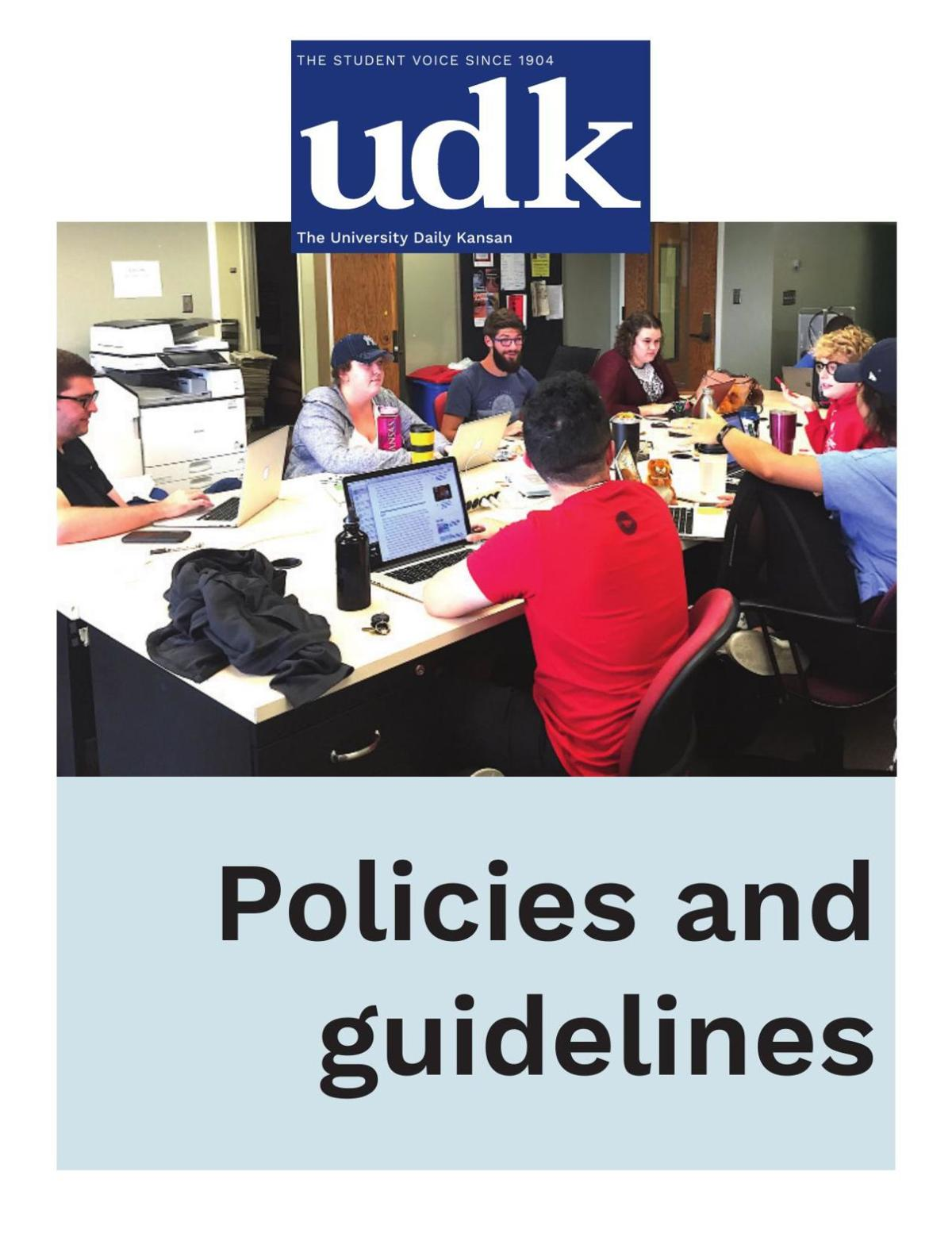 Kansan Policies and Guidelines